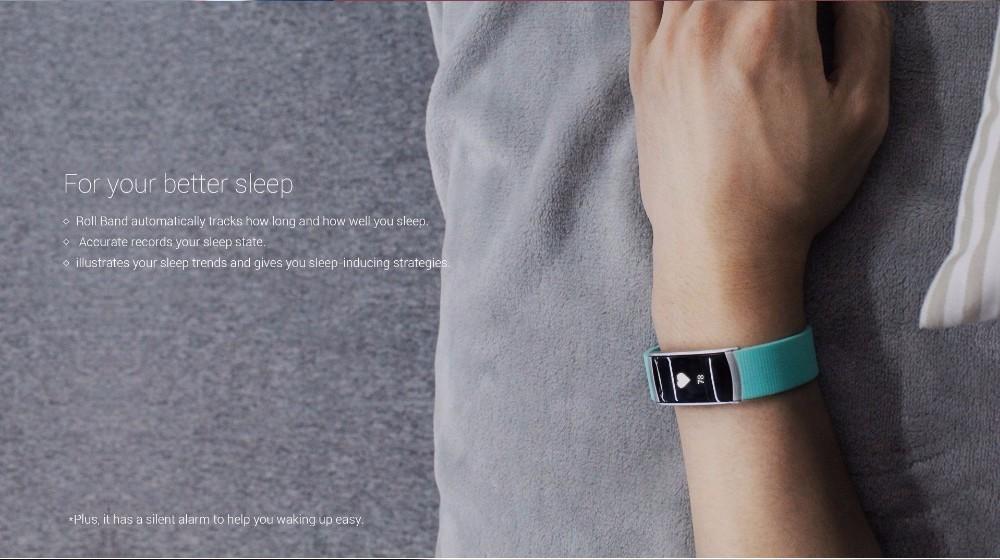 Original iWown i6Pro Smart Band PMOLED Display Heart Rate Monitor Smart WristBand Bracelet Waterproof Android Fitness Tracker 16