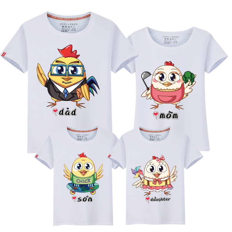 HTB1 rOJbbsTMeJjy1zcq6xAgXXaI - Family Matching Clothes Leisure New Summer Cotton T-shirts Boy for Father Mother Son Daughter Family Matching Outfits Look