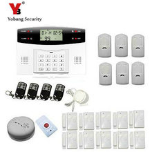 YobangSecurity Russian Spanish French Italian Czech Voice Wireless Wired GSM Home Security Burglar Alarm System Wireless Siren