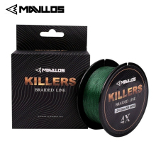 цена на Mavllos 150m/220m Braided Fishing Line 4 Strands 0.06-0.6mm 4-121Lb Super Strong Saltwater Multifilament 4W PE Fishing Line