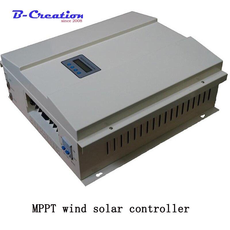 Заводская цена 4200 Вт 48 В/96 в/120 в 3000 ветер от сетки умный MPPT Солнечный ветер гибридное зарядное устройство с ЖК дисплей