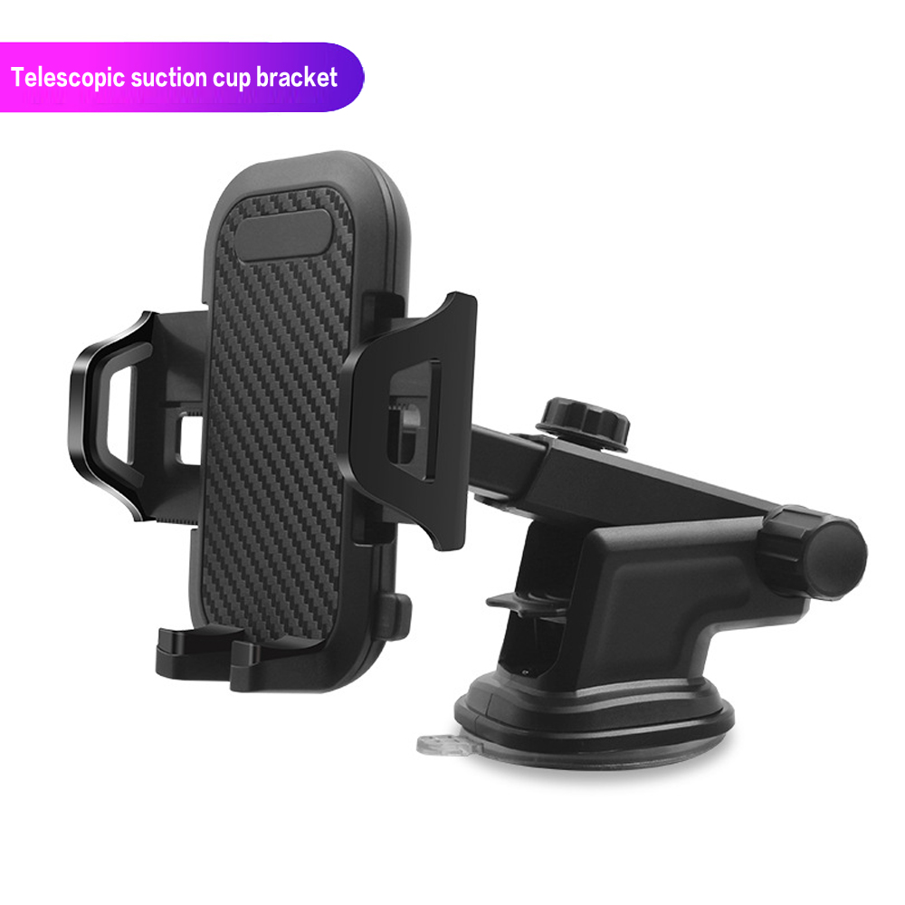 DHKEJI Car Mobile Phone Holder GPS Display Mobile Phone Holder Windshield Car Accessories For IPhone XS 8 7Plus Samsung Millet