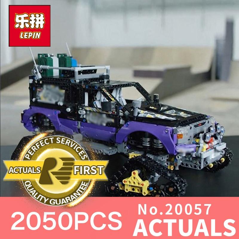 Lepin 20057 2050Pcs Genuine Technic Mechanical Ultimate Extreme Adventure Car Set Building Blocks Bricks LegoINGlys 42069 2050pcs 2in1 techinic extreme adventure