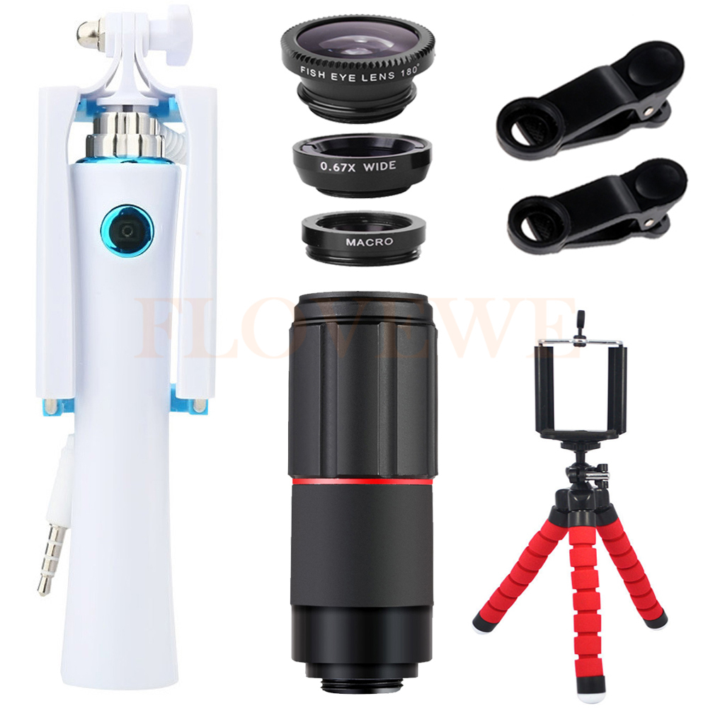 New 8X Telephoto Zoom Lenses For iPhone Samsung Cell Phone