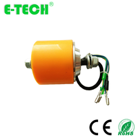 CE approved a pair 3 inch gearless with hall sensor brushless scooter hub motor
