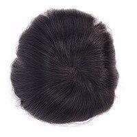 LADYSTAR человеческих Для мужчин s тупею моно кусок волос с супер настоящие волосы заменить Для мужчин t индийские волосы Для мужчин волос парик