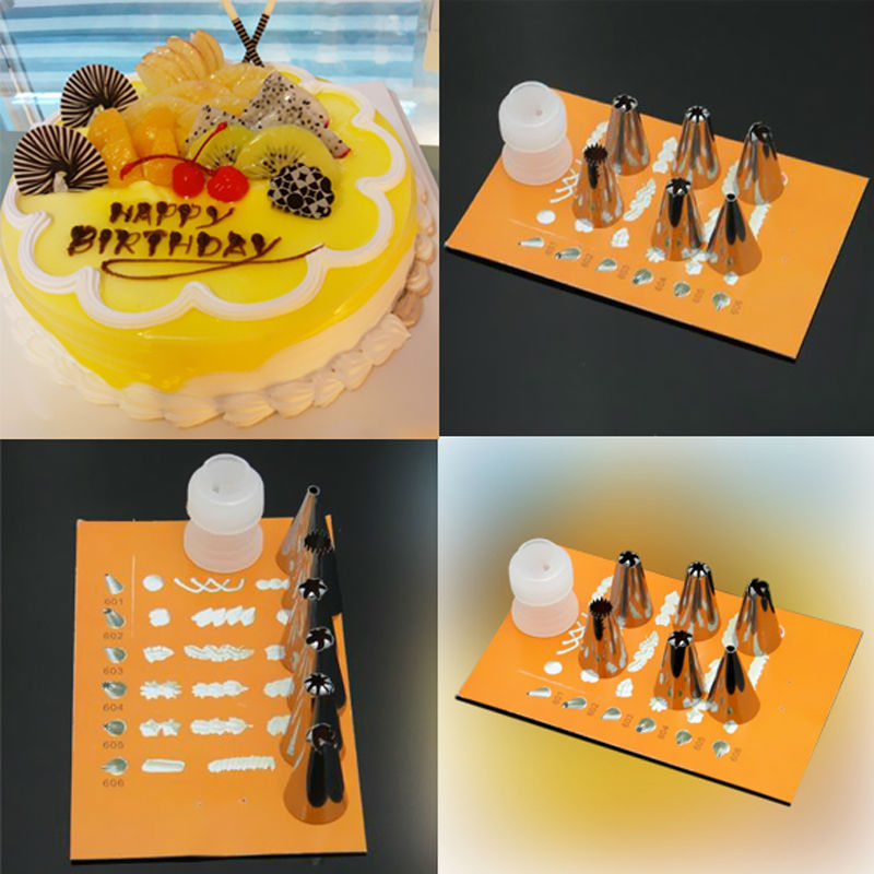 Cake Mate Decorating Icing Shelf Life : ?6PCS/Set Icing Nozzles Stainless Steel ?? Flower Flower ...