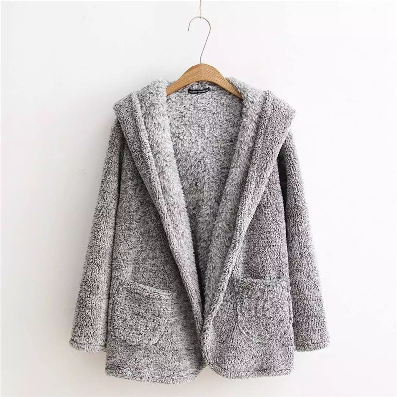 Popular Gray Sweater Coat-Buy Cheap Gray Sweater Coat lots from