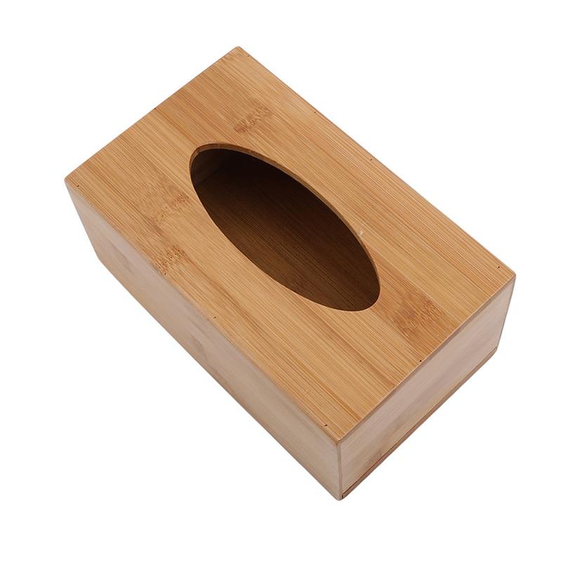 Модный стиль бамбуковая квадратная коробка для салфеток креативный Тип сиденья рулон коробка для хранения бумажная коробка для салфеток экологически чистый деревянный стол Декор - Цвет: L