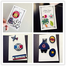 Aircraft sweater brooch female pin buttons Korea corsage, cute cartoon coat cardigan badge
