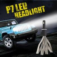 2X Car LED Headlight 12V 24V 60W 9600LM 6000K Light Auto Headlamp Bulb Kit H1 H3