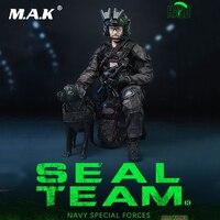 Для сбора M013 1/6 масштаб полный набор 12 ''темно спецназ нам Спецназ ВМС команда B HALO с собакой модель для Коллекционная вентилятор подарок