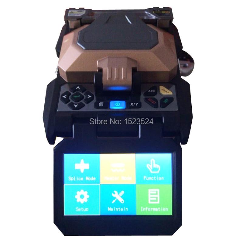 AV6481 сенсорный экран Автоматическая FTTH волоконно-оптический Сращивание машины оптоволоконной сварки