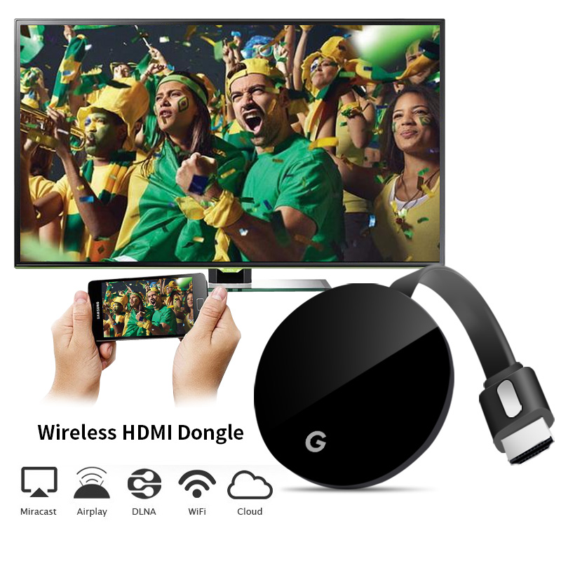 2018 G7 TV Stick Android Wireless WiFi DisplayTV Dongle Receiver 1080P HD Miracast Airplay DLNA Mirroring PK Chromecast 2