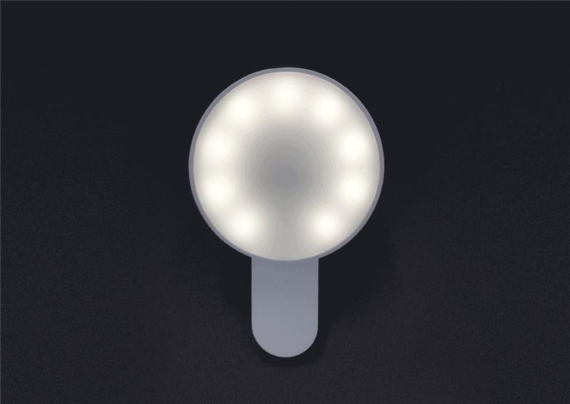 Original Xiaomi Mijia Yuemi Fill Led Light ( Mobile Phone Selfies ) For Xiaomi Smart Home Three Dimming  Minimalist Design (7)
