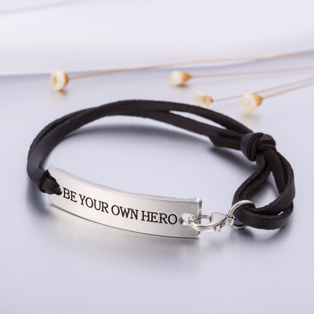 follow message quick inspirational view p stretch footprints bracelet sliver