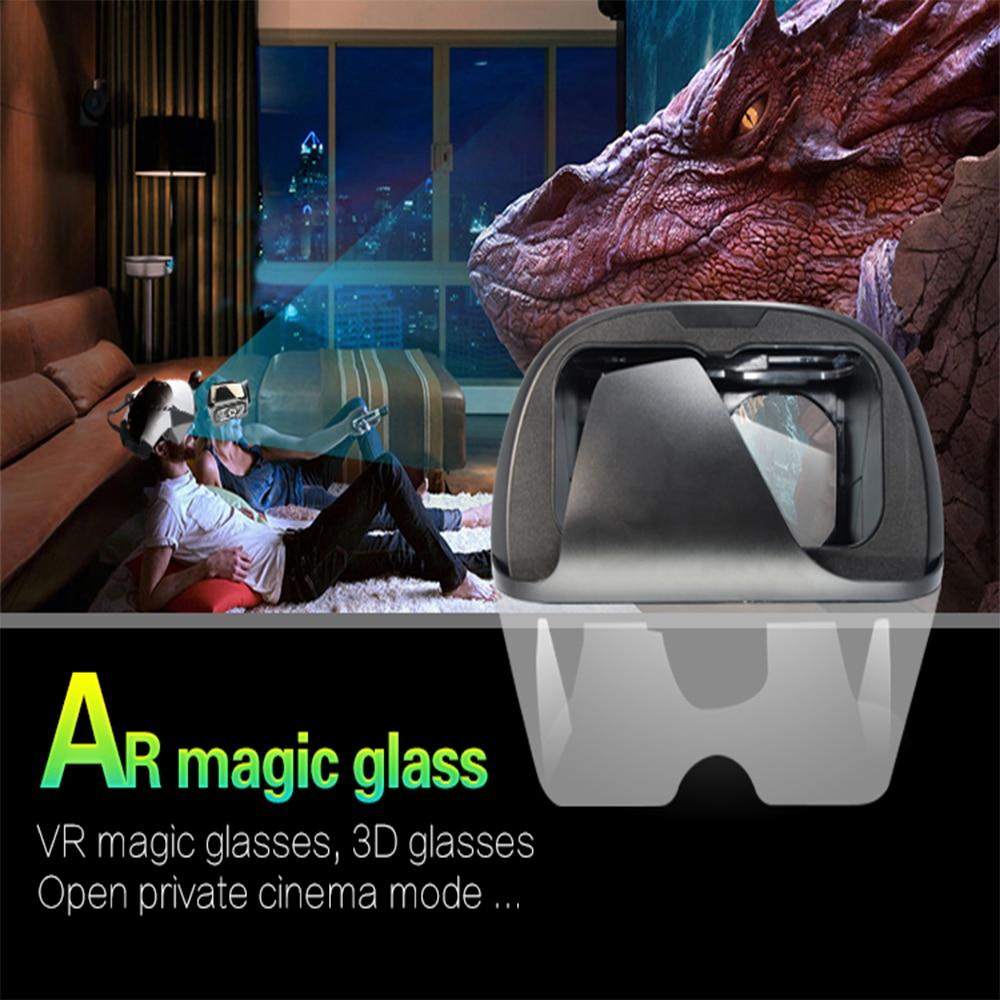AR Glasses 3D Glasses Vritual Reality Shinecon Headset VR Glasses universal 3D Box For Smartphones