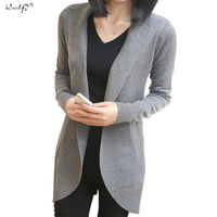 Cardigan Sweater Vintage 2015 Womens Fashion Winter New Casual Knitted Sweater Long Sleeve Cardigan Coat Jacket