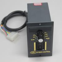 Free Shipping Digital display 6~250W UX 52 AC 220V 50Hz Gear Motor speed regulator controller