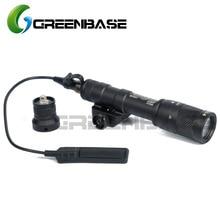 Greenbase светильник разведчик, белый светильник, с ИК выходом, для оружия, светильник светодиодный, для охоты, 400 лм, 20 мм