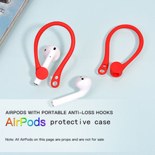 Applicable Airpods Protective Cover Bluetooth Wireless Headset Universal Accessories Sports Anti-lost Silicone Sleeve Ear Hook 1 pair earbuds cover in ear tips soft silicone skin ear hook durable earpiece accessories sports bluetooth headset