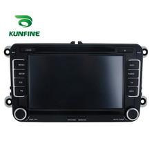 KUNFINE Android 7.1 Quad Core 2GB Car DVD GPS Navigation Player Car Stereo for VW GOLF(MK5) 2003-2009 Radio headunit Bluetooth