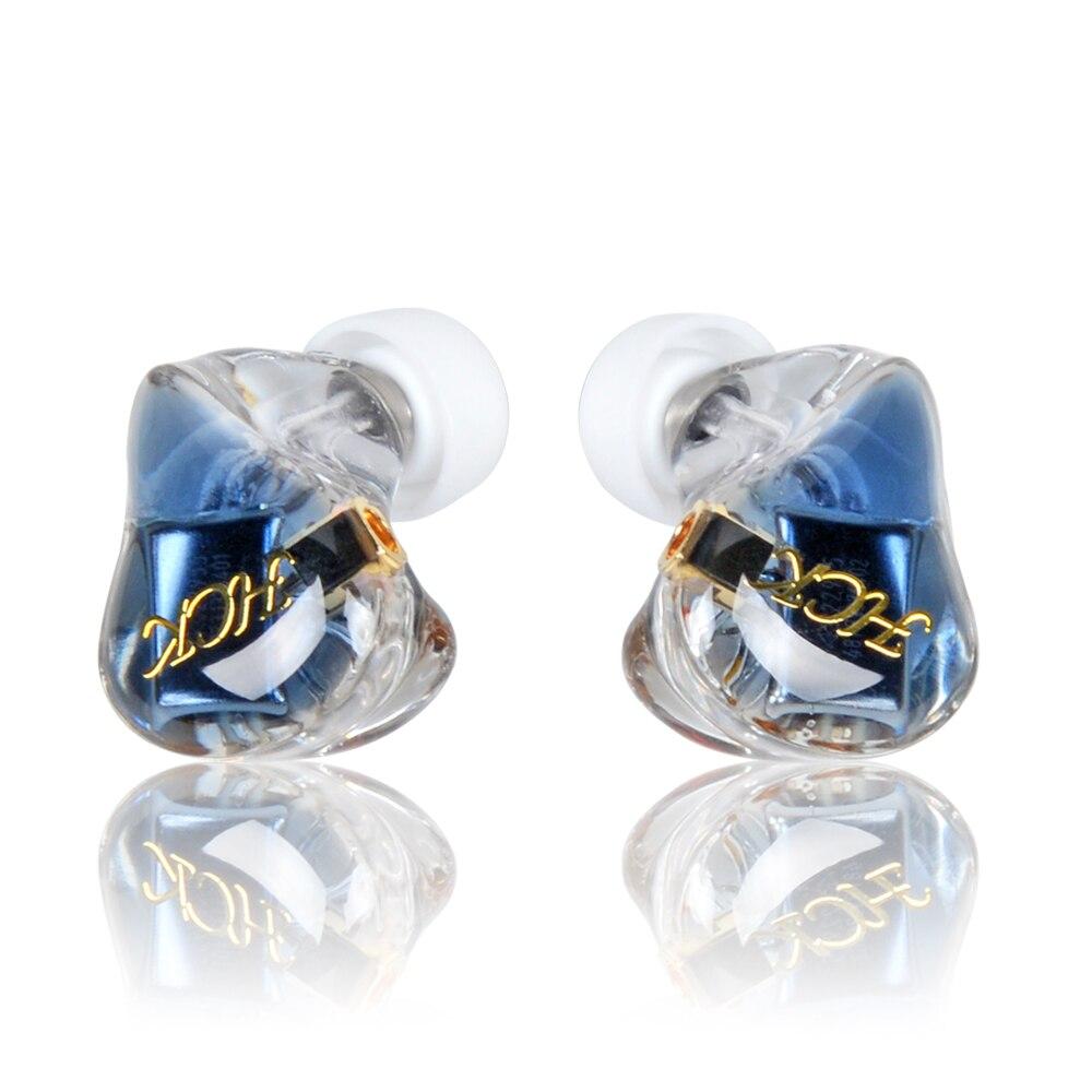 NICEHCK HC5 5BA Lecteur Dans L'écouteur D'oreille 5 Armature Équilibrée HIFI Résine Écouteur Avec Amovible Détacher MMCX Câble HIFI Écouteurs