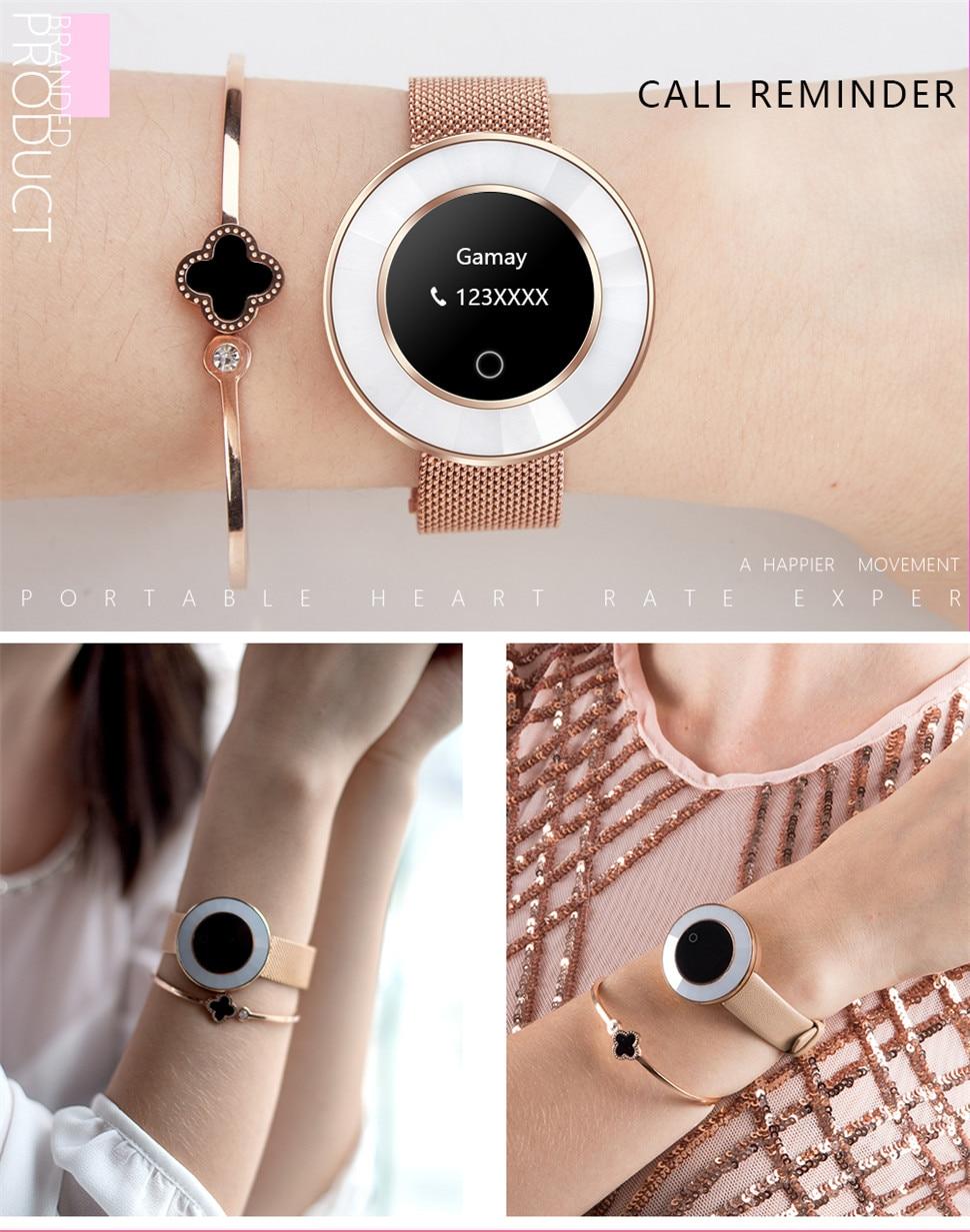 YKSO IP68 Waterproof Smart Bracelet Pedometer X6 Fitness bracelet Sleep Heart Rate Monitor Smart Bracelet (8)