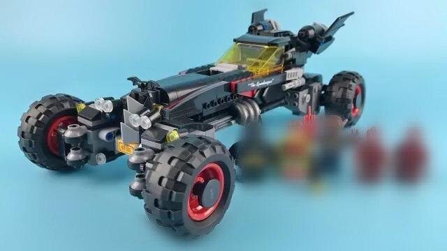 637pcs Super Heroes Movie Batman Kabuki Bat Mobile 5 Figures Building Block Compatible Lepins Brick Toy