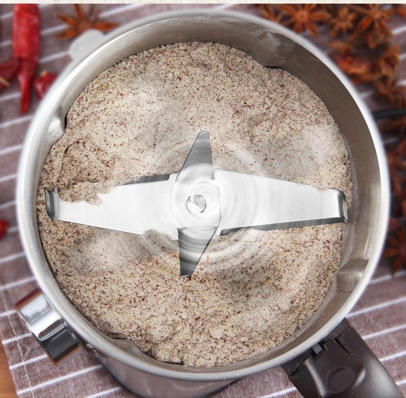 Grinder Powder Machine Superfine Grinder Grain Dry Grinding Small Panax Notoginseng Powder Crusher Household Milling Machine 3