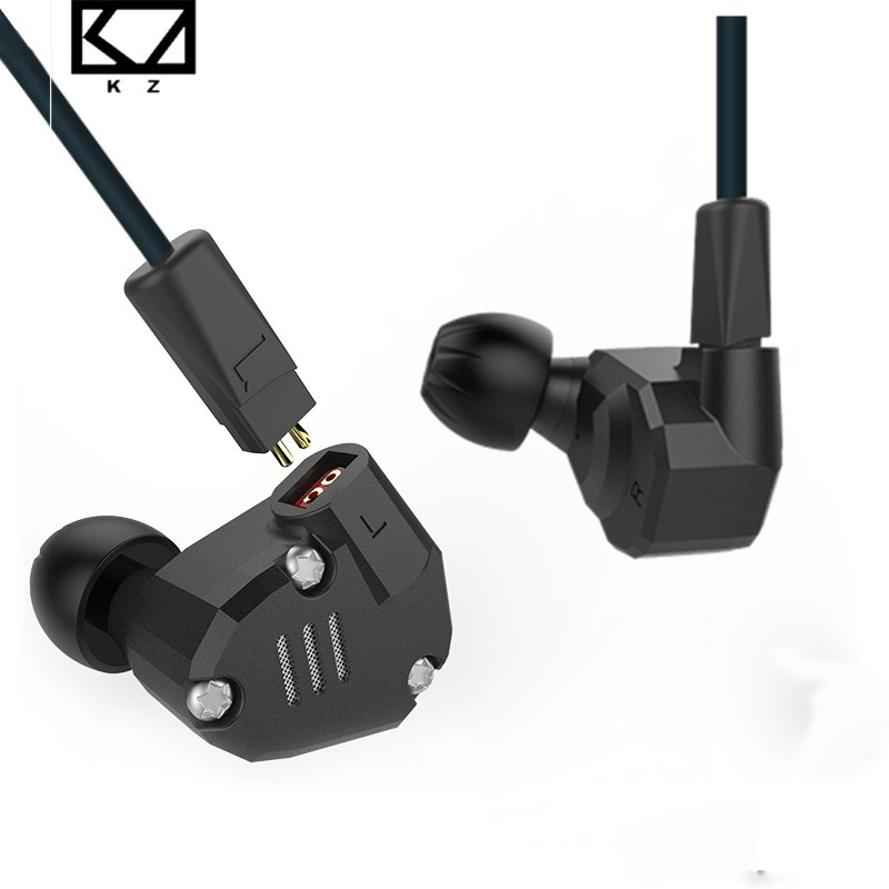 KZ ZS6 8 Drivers Hybrid Earphone In Ear HIFI Stereo Sport Headset Earphone Suitable Bluetooth ZS5 Pro Priority Delivery kz zs6 earphones 2dd 2ba 8 drivers hybrid in ear stereo sport headset suitable hifi noise isolating monitor headphones zs5 pro