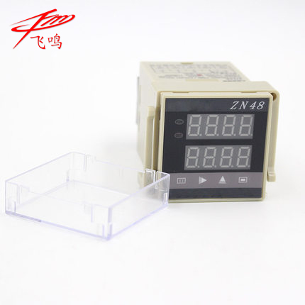 цена на ZN48 HB482 Digital Time Relay Counter AC 220V switch digital measuring instrument AC110V-260V DC24 DC12V AC 220V 110V