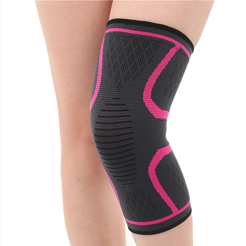 Knee Protector High Elasticity Knee Support Pad Breathable Relieve Arthritis Guard Kneepad Compression Leg Knee And Calf Sleeves