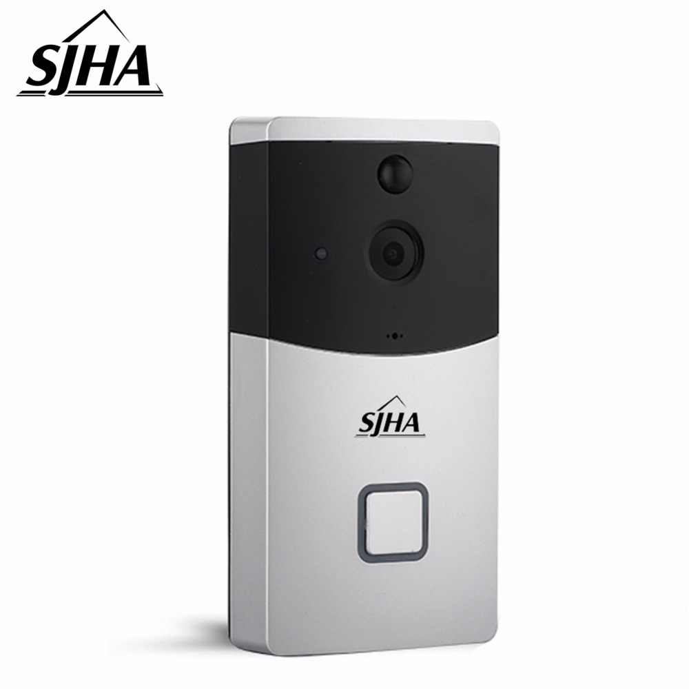 цены Smart Wireless Video Doorbell HD Wifi Security Camera With Real-Time Two-Way Talk and Video Night Vision PIR Motion Detection