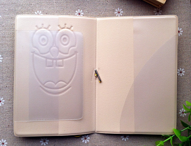 Spongebob Squarepants 3d Stereoscopic Passport Cover Passport Holder Documents Taoka Kit Coin Purses & Holders Essential Travel Abroad