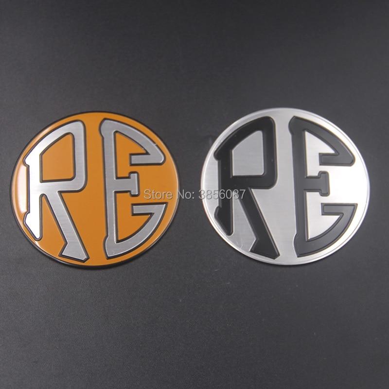 FASP Royal Enfield Motorbike Emblem Badge aluminum standard high quality Decal & sticker for Royal Enfield Retro motorcycle for royal enfield 500 2013 2017 14 15 16 knife blade cnc long brake