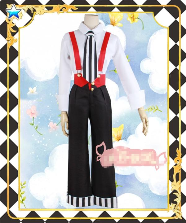 New Clothing Hot Anime Card Captor Sakuran Uniform Cosplay Costume Customized Full Set Shirt+Rompers+Tie