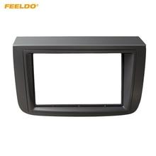 FEELDO автомобиля 2Din Радио Фризовая рамка для Fiat Croma 2005 установке DVD приборной панели крепление лицо Панель отделка комплект