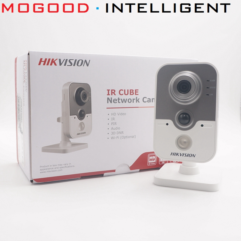 HIKVISION DS 2CD2442FWD IW 4MP Cube IP Camera Wireless Support EZVIZ Hik Connect App WiFi Night
