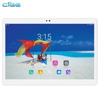 Envío Libre 10.1 pulgadas Tabletas MTK8752 CIGE 4G LTE Dual SIM WCDMA GPS 4 GB/64 GB Android 6.0 Tablet PC soporte Google Play store