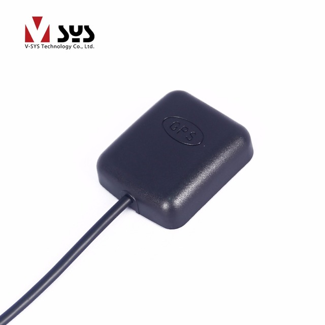 SYS C6 / S6 / T2 / X2 / X1V / X4 GPS module with 2.5m extension cable for motorcycle dvr