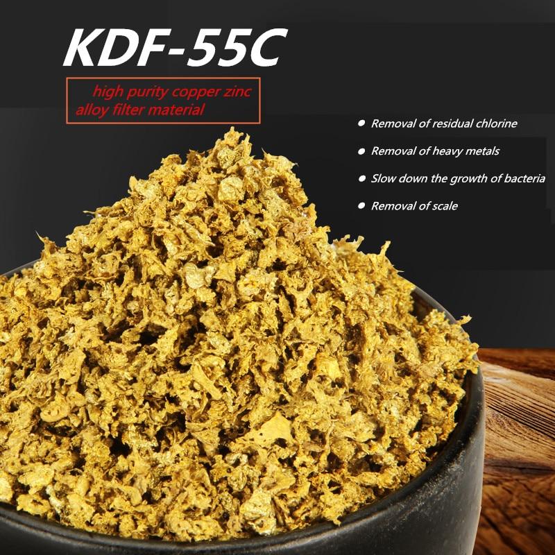 5-26 сетчатых медно-цинкового сплава KDF фильтрации воды средства для хлора, тяжелых металлов, бактерий, удаления железа фильтр для воды/душ