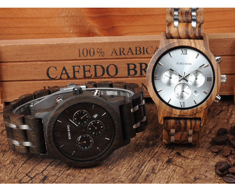 BOBO BIRD Luxury Quartz Wrist Watch for Men - P19 13