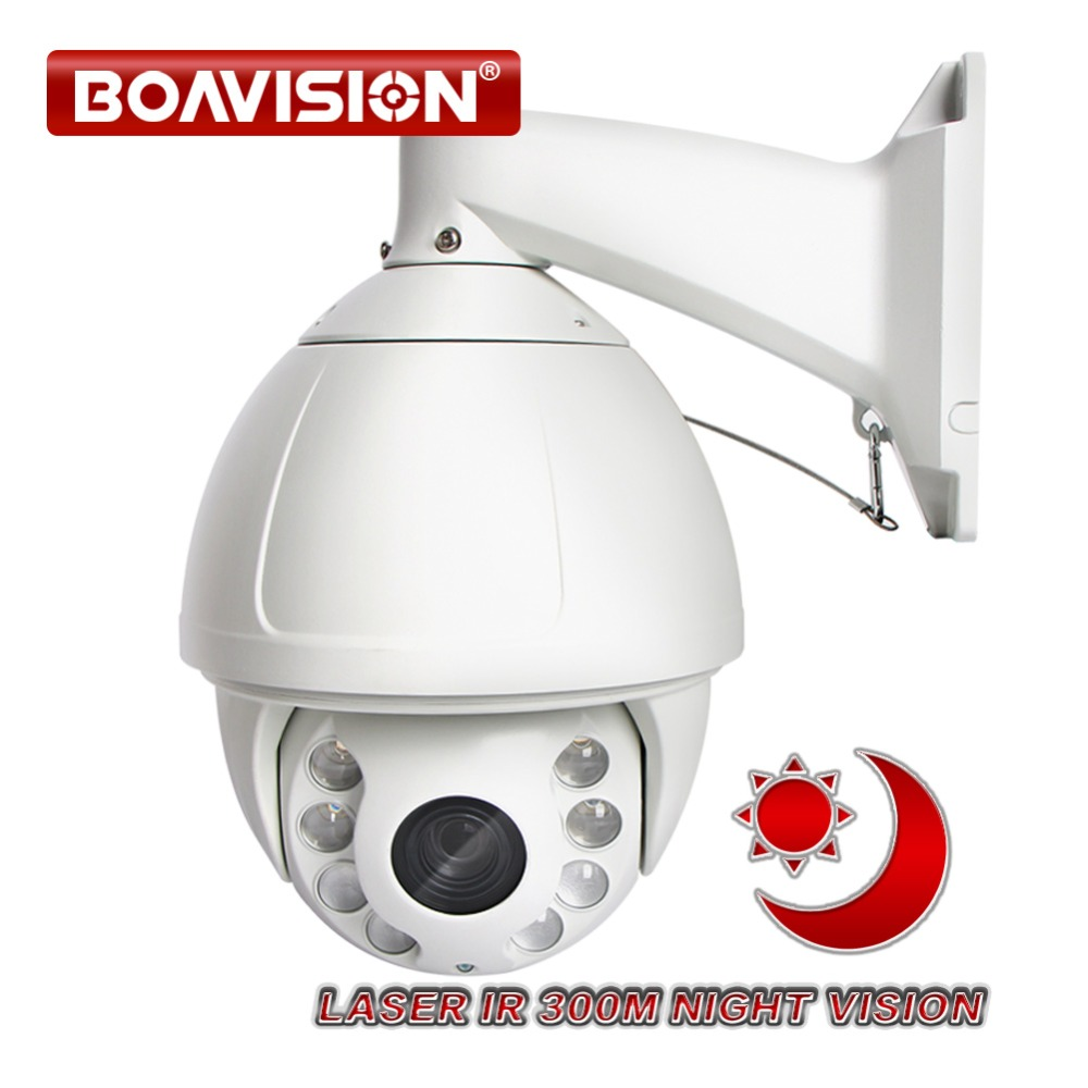 HD 1080P 2MP 5MP PTZ IP Camera 300m IR Laser High Speed Dome Sony IMX322 30X Zoom Outdoor Network Onvif CCTV Security Camera P2P