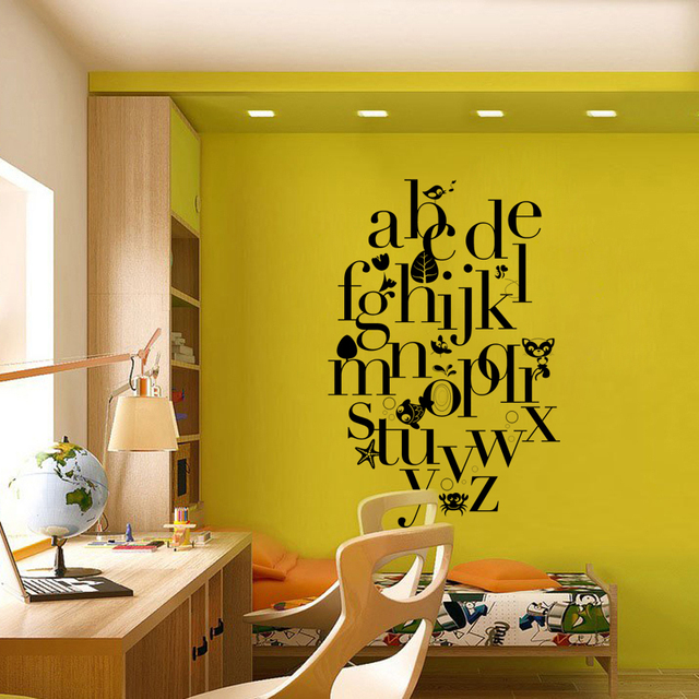KUCADA Creative Children\'s room DIY Art Wall Stickers Home ...