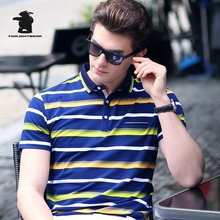 High Quality men's Long Sleeve Polo Shirts Designer Fashion Embroidery Plus Size Casual Polo Shirts Men Pull Homme CB17E8203