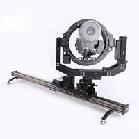 ASXMOV G6 6 axis traploos dslr camera slider/slider camera met dubbele follow focus voor film schieten apparatuur