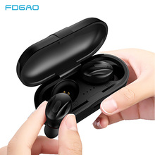 TWS Wireless Mini Bluetooth Earphone For Xiaomi Huawei iPhone Stereo Earbud Sport Ear Phone With Mic Portable Charging Box azexi new style true wireless bluetooth earphone mini twins in ear stereo tws with charging box for samsung apple huawei xiaomi