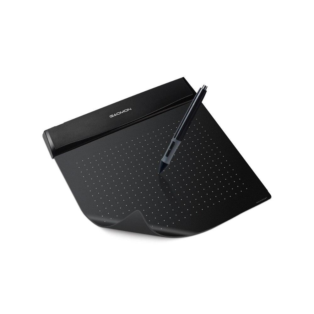 """Лидер продаж gaomon Новый s56k 6 """"Мини USB цифровой Планшеты Гибкая рисунок Графический ручки Планшеты Дизайн Планшеты черный"""