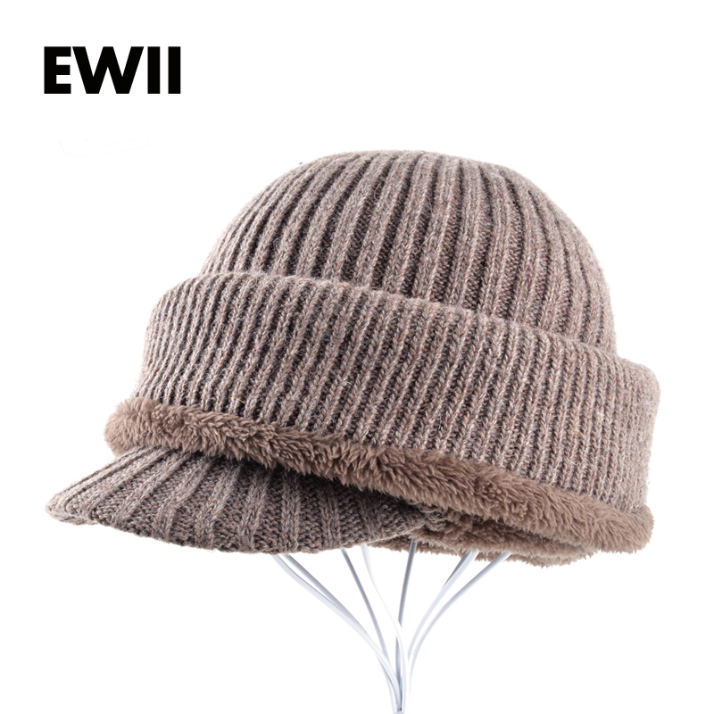 2017 Winter beanie hats for women mask cap bonnet femme skullies women knitted beanies c ...